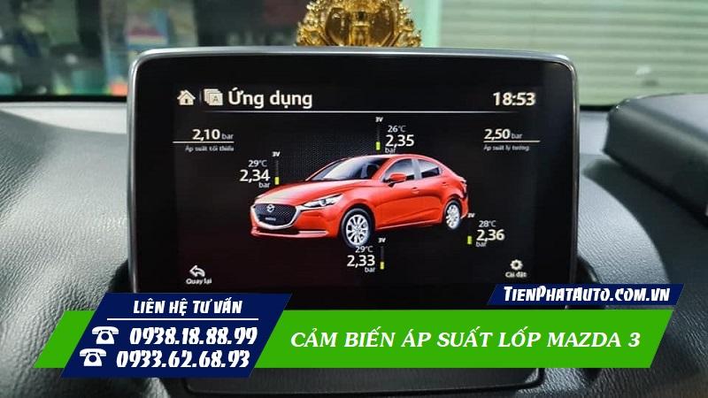 Lắp Cảm Biến Áp Suất Lốp Cho Mazda 3 Tại TPHCM