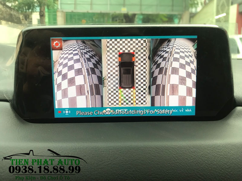 Lắp Camera 360 DCT Cho Mazda Cx5 Tại Quận Tân Bình