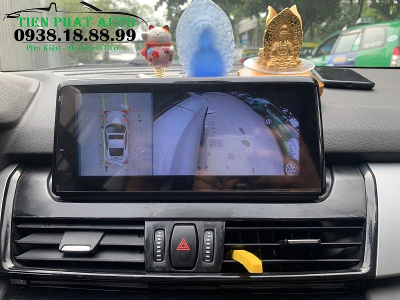 Lắp Camera 360 DCT Cho Xe BMW 218i