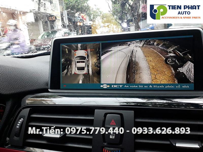 Lắp Camera 360 Độ DCT Bản T3 Cho Xe BMW 320i | Camera Chất Lượng Cao Cấp Nhất