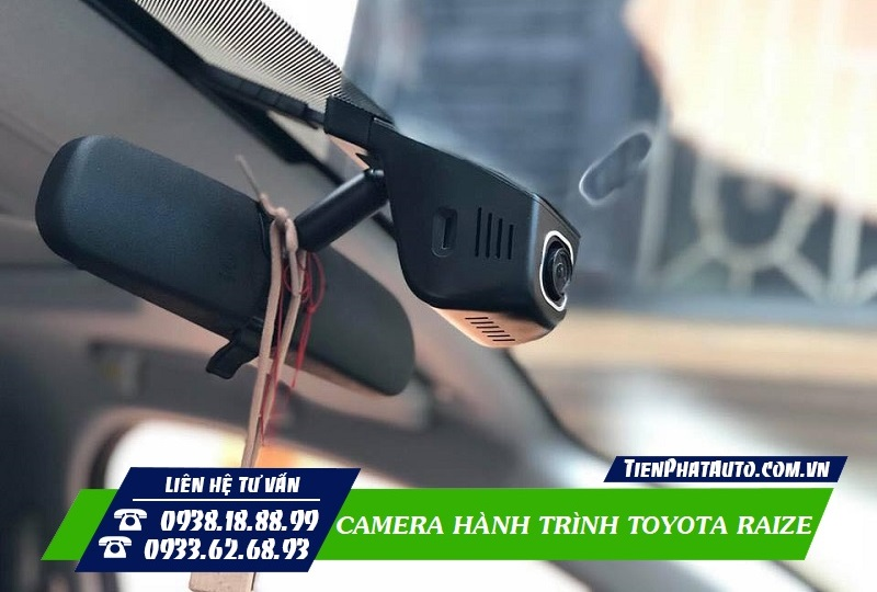 Lắp Camera Hành Trình Toyota Raize
