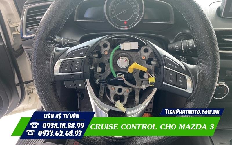 Lắp Cruise Control Cho Mazda 3