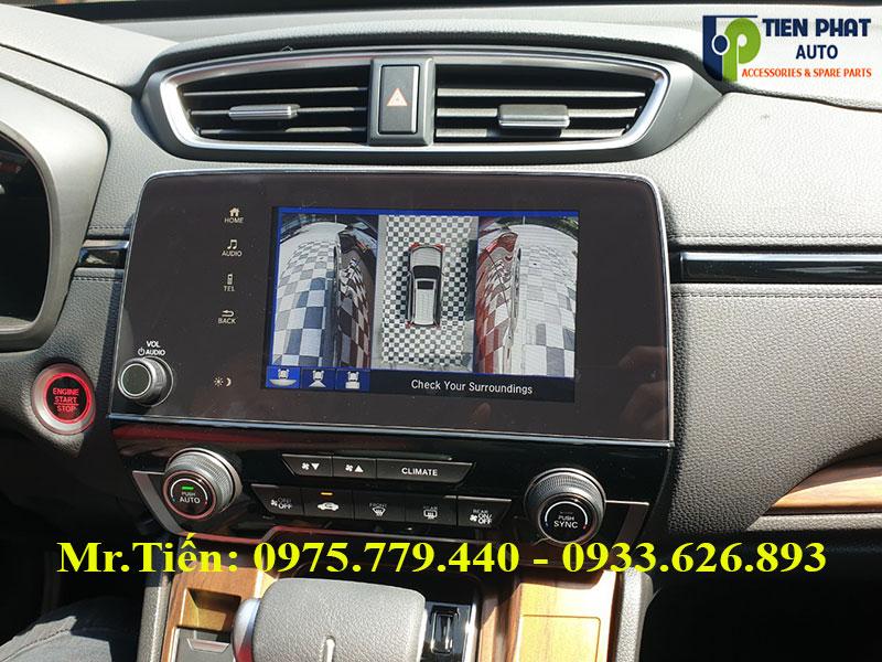 Lắp Đặt Camera 360 DCT Cho Honda CRV Chuyên Nghiệp Tại TP.HCM| Tiến Phát Auto