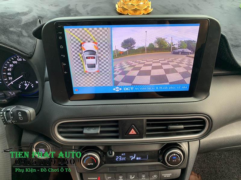 Lắp Đặt Camera 360 DCT Cho Hyundai Kona 2019