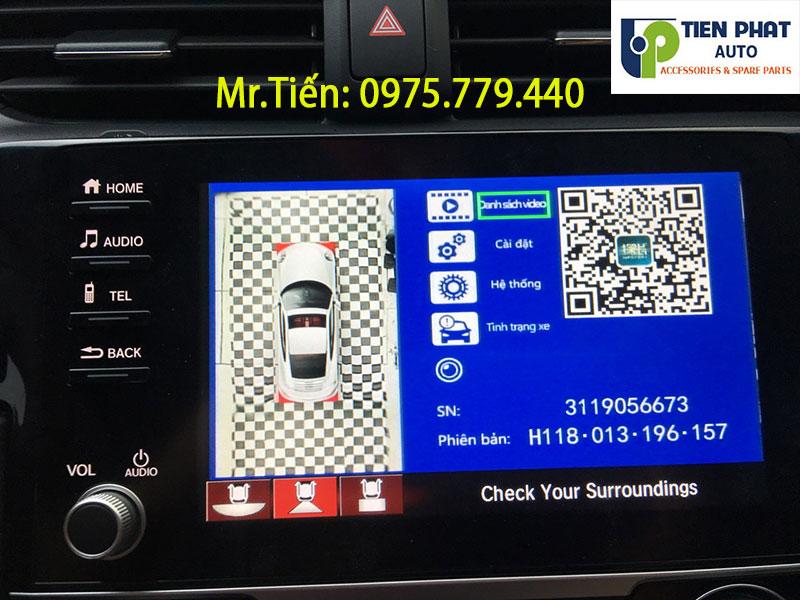 Lắp Đặt Camera 360 Độ Cho Xe Honda Civic Loại Tốt Nhất Hiện Nay