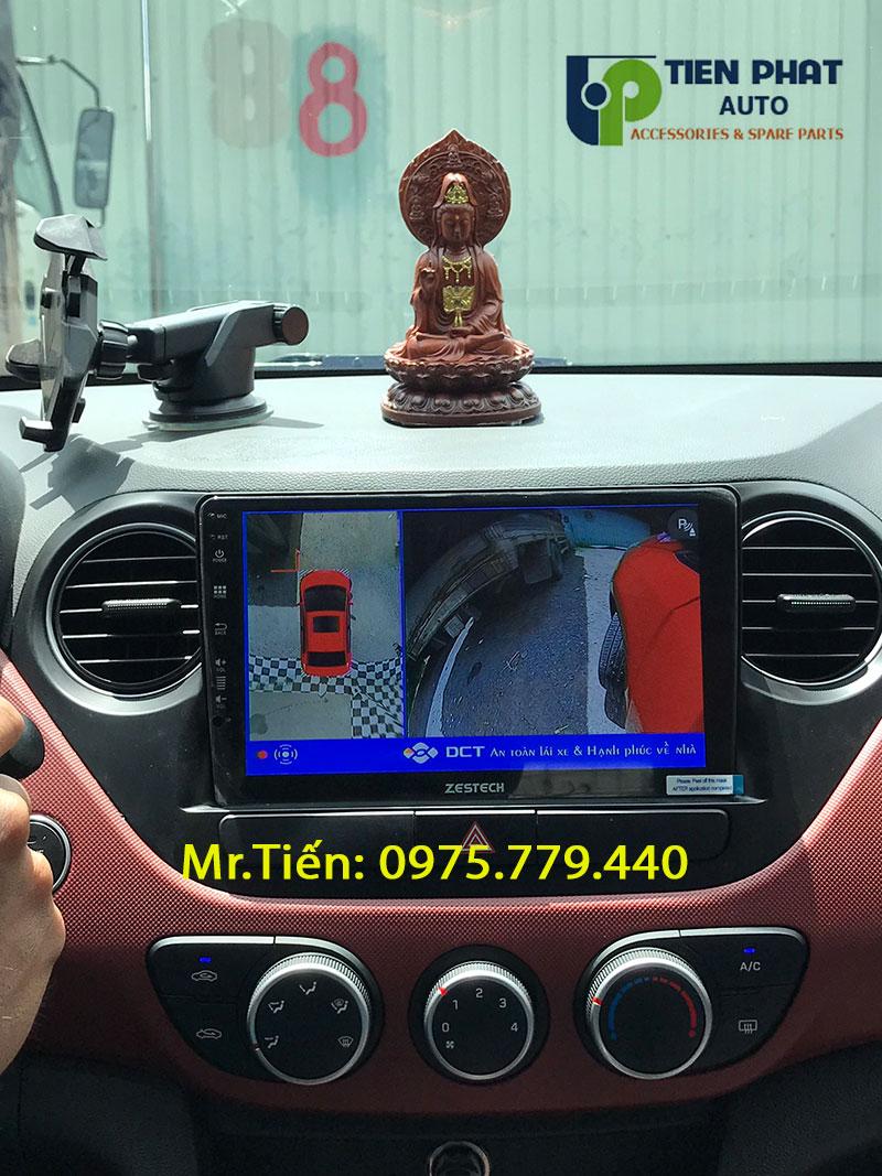 Lắp Đặt Camera 360 Độ DCT Cho Xe Huyndai I10 Tại TP.HCM