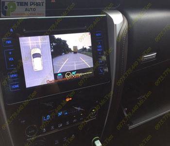 Lắp Camera 360 Độ Oview Cho Xe Ô Tô Honda Crv Tại TP.Hcm Uy Tín