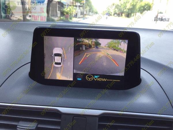 Lắp Đặt Camera 360 Độ Oview Cho Xe Ô Tô Kia Sorento Chuyên Nghiệp Tại TP.HCM