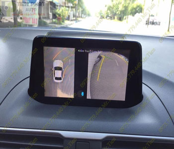 Lắp Đặt Camera 360 Độ Oview Cho Xe Ô Tô Mitsubishi Mirage Chuyên Nghiệp Tại TP.HCM