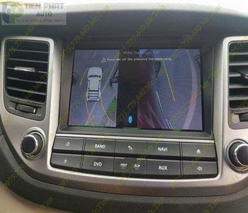 Lắp Đặt Camera 360 Độ Oview Cho Xe Ô Tô Nissan Teana Chuyên Nghiệp Tại TP.HCM