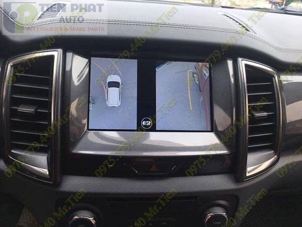 Lắp Đặt Camera 360 Độ Oview Cho Xe Ô Tô Suzuki Etriga Chuyên Nghiệp Tại TP.HCM