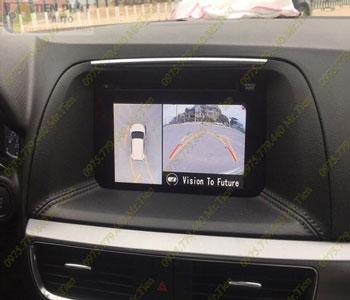 Lắp Đặt Camera 360 Độ Oview Cho Xe Ô Tô Toyota Venza Chuyên Nghiệp Tại TP.HCM