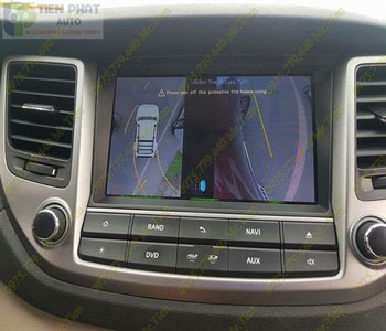 Lắp Đặt Camera 360 Độ Oview Cho Xe Ô Tô Toyota Yaris Chuyên Nghiệp Tại TP.HCM