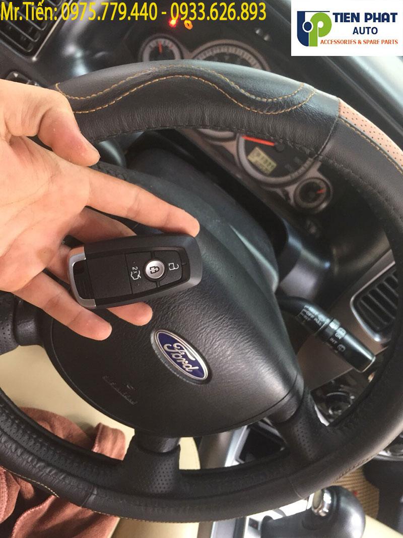 Lắp Đặt Chìa Khóa Thông Minh Cho Xe Ford Escape 2008 – 2015