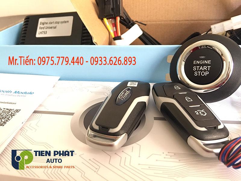 Lắp Đặt Chìa Khóa Thông Minh Cho Xe Ford Ranger 2011 – 2018 Tận Nơi
