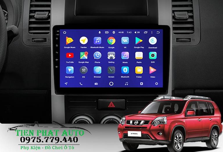 Lắp Màn Hình Android Teyes CC2 Cho Nissan X-Trail