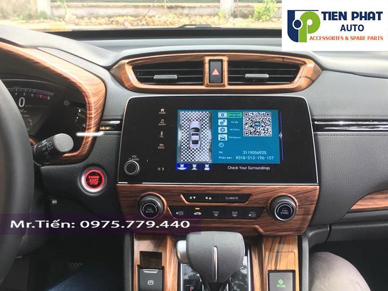 LÊN CAMERA 360 ĐỘ DCT CỰC CHẤT CHO XE HONDA CRV 2019 TẠI TIẾN PHÁT
