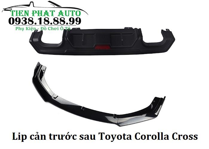 Lip Cản Trước Sau Cho Xe Toyota Corolla Cross