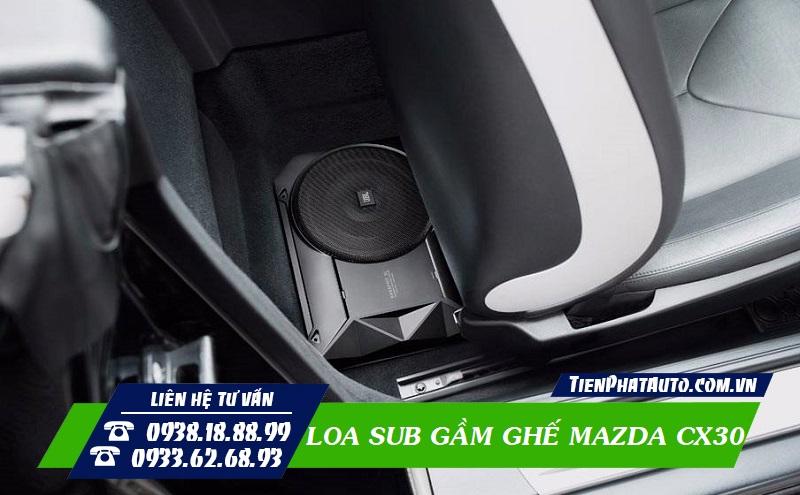 Loa Sub Gầm Ghế Cho MAZDA CX30
