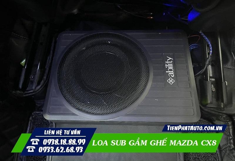 Loa Sub Gầm Ghế Mazda CX8