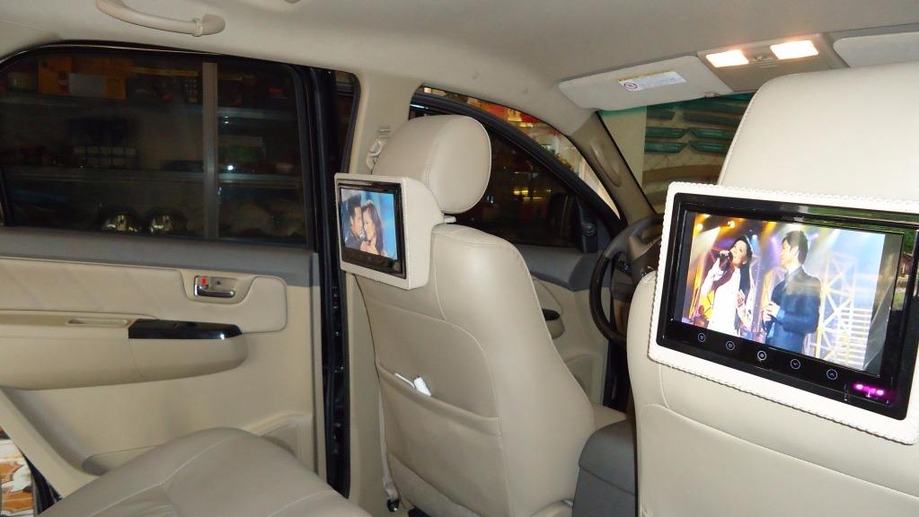 Lợi ích khi lắp màn hình gối đầu xe hơi Honda City