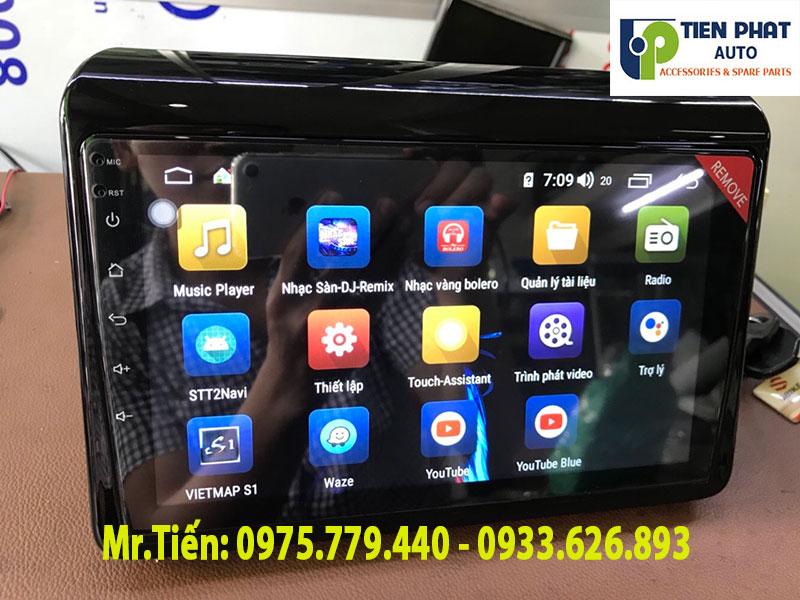 Màn Hình Android Cắm Sim 4G Zin Theo Xe Suzuki Ertiga 2019