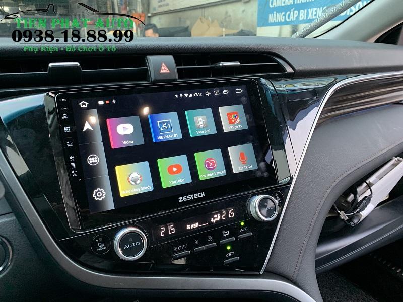 Màn Hình Android Cho Xe Toyota Camry 2019 - 2020
