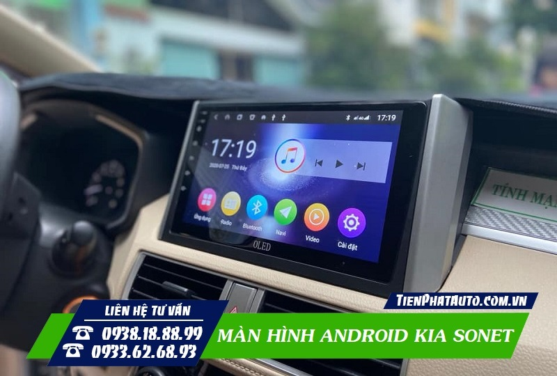 Màn Hình Android Kia Sonet