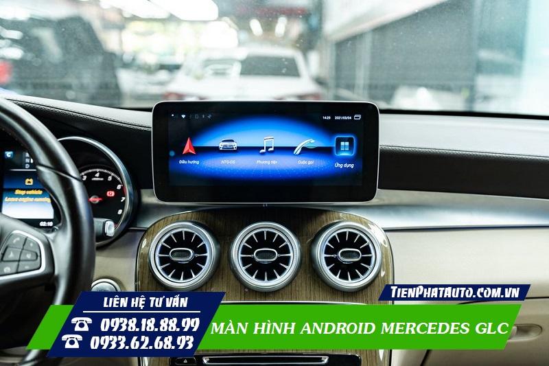 Màn Hình Android Mercedes GLC 200 250 300