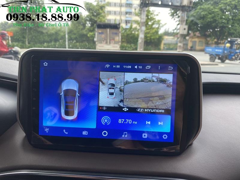 Màn Hình Android Teyes CC2 Cho Xe Santafe 2019 2020