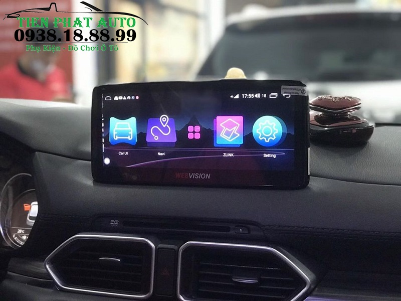 Màn Hình Android Webvision Cho Xe Mazda CX5