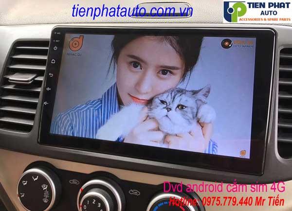 Màn Hình DVD Android Cắm Sim 4G Cho Kia Morning 2014-2017 Giá Rẻ Tại Tp.HCM