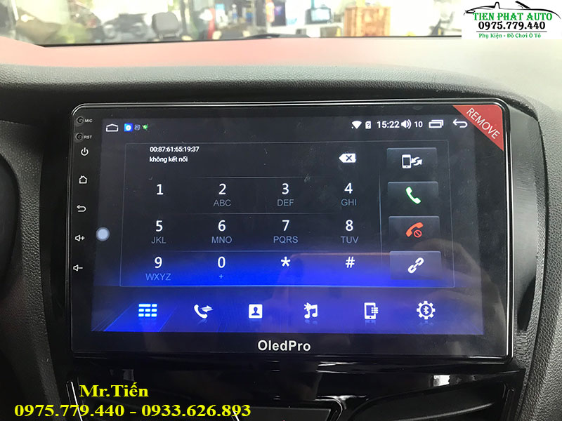 Lắp Màn Hình DVD Android OLED PRO Cho Vinfast Fadil