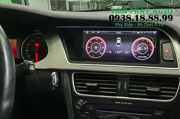 Màn Hình DVD Android Cho Xe Audi A4 2007 - 2015