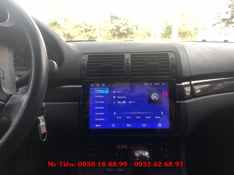 Màn Hình DVD Android Cho Xe BMW 318i E46