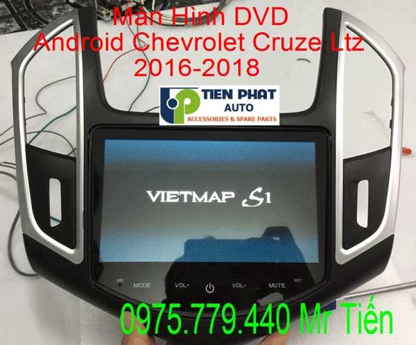 Màn Hình DVD Android Cho Xe Chevrolet Cruze Số Tự Động Ltz 2016-2018