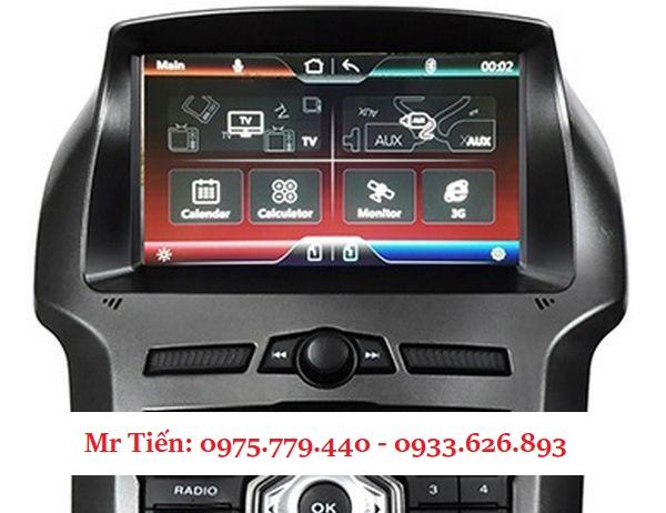 Màn Hình DVD Android Cho Xe Ford Ranger Raptor