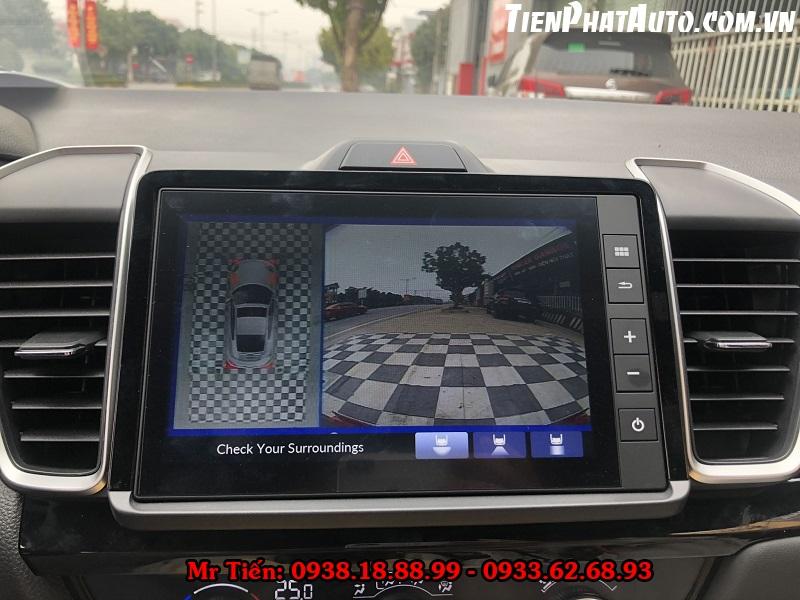 Màn Hình DVD Android Cho Xe Honda City 2021
