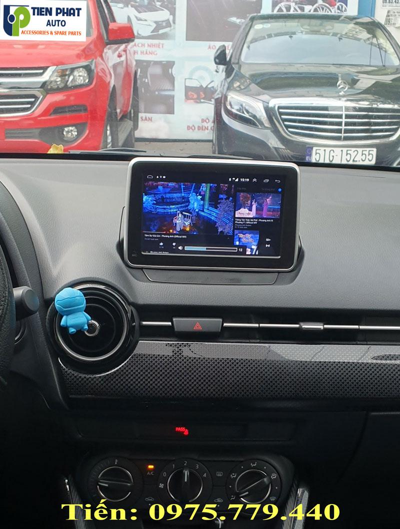 Lắp Màn Hình DVD Android Cho Mazda 2 2019