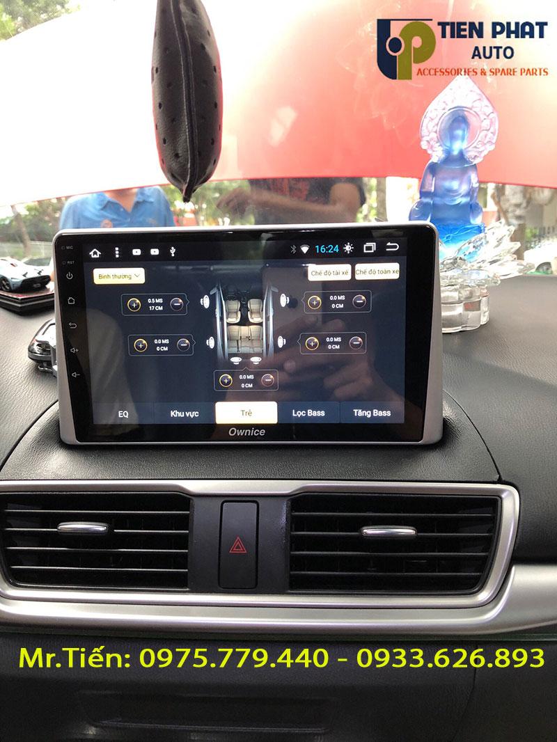 Màn Hình DVD Android Cho Xe Mazda 3 Có Điều Khiển Giọng Nói