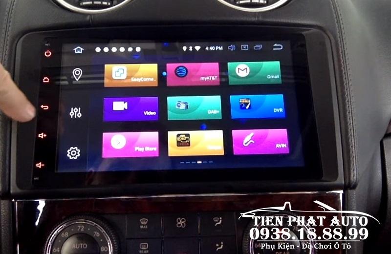 Màn Hình DVD Android Cho Xe Mercedes GL450