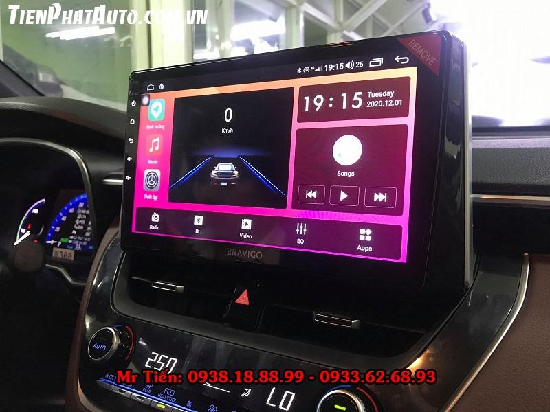 Màn Hình DVD Android Cho Xe Toyota Corolla Cross