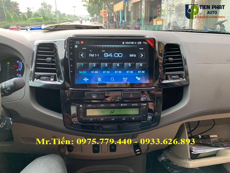 Màn Hình DVD Winca Pro Cho Toyota Fortuner