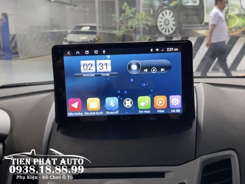 Màn Hình DVD Android Oled Cho Xe Ford Fiesta 2011