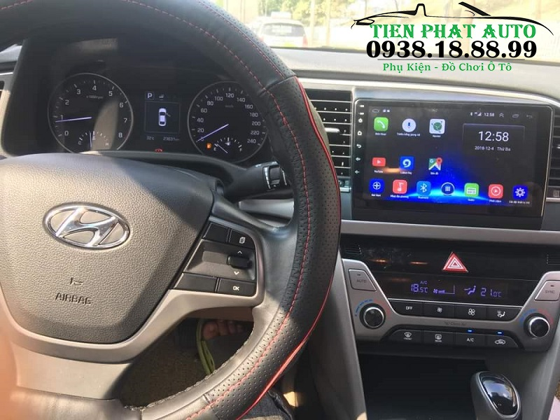 Màn Hình Android Oled C2 Cho Xe Hyundai Accent