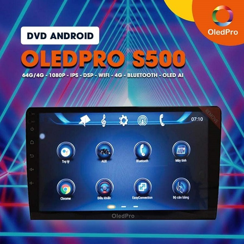 Màn Hình DVD Android OLED Pro S500