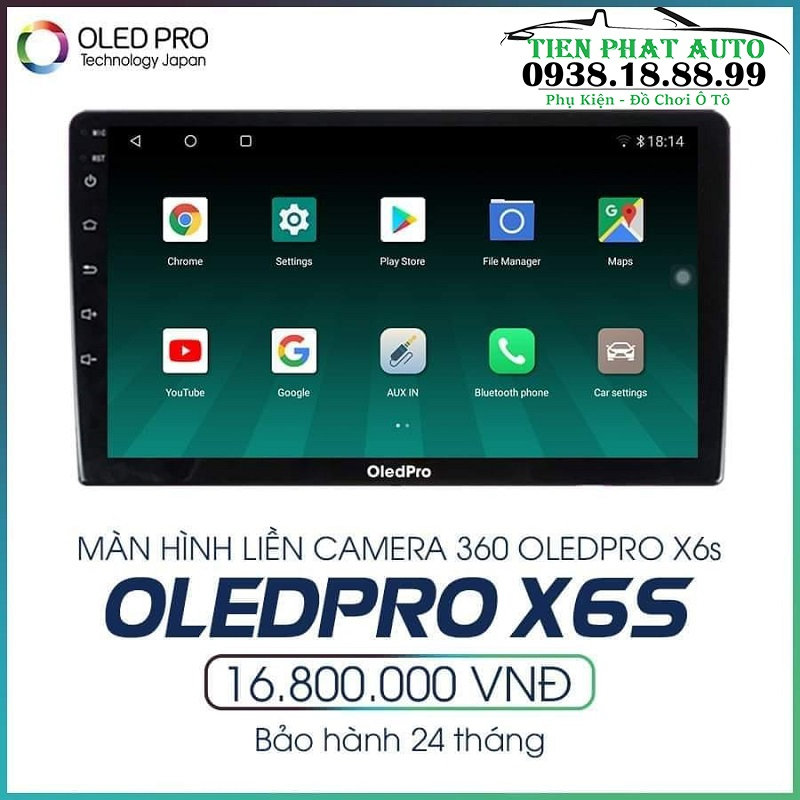 Màn Hình DVD Android Oled Pro X6S