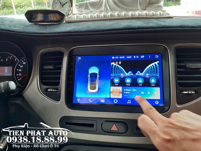 Màn Hình DVD Android Teyes CC2 Cho Xe Kia Carens