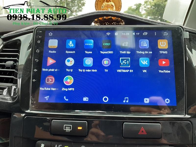 Màn Hình DVD Android Teyes CC2 Cho Xe Toyota Fortuner