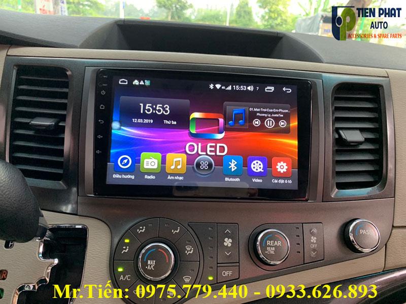 Màn Hình DVD Chạy Android Cho Toyota Sienna 2014-2018 Giá Tốt Nhất Thị Trường